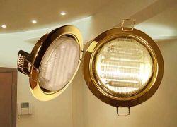 Галогенные точечные светильники