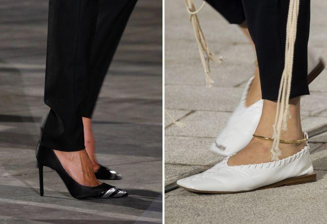 модный цвет туфель весна 2018
