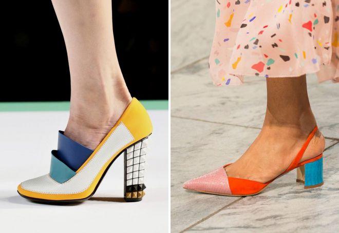 женские весенние туфли 2018