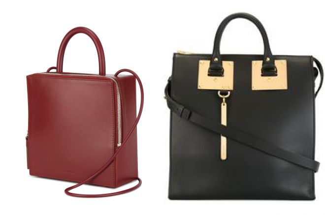 квадратная сумка портфель