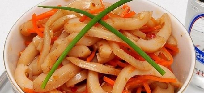 пикантна корейска калмари рецепта2