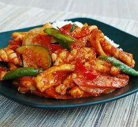 Korejski lignje recept