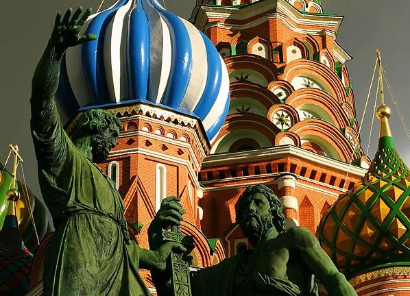 """Катедралата """"Св. Василий"""" в Москва"""