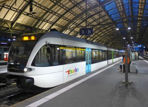 Железнодорожная станция Санкт-Галлена