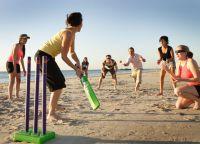 Игра в крикет на Сент-Джеймсе