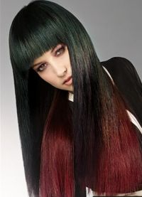 омбре ефекат на тамне косе 5