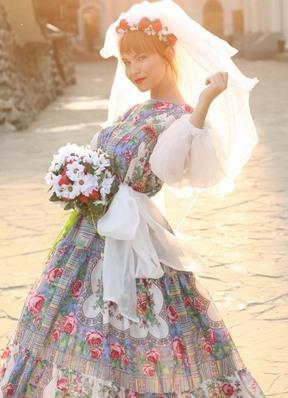 главне хаљине у руском стилу2