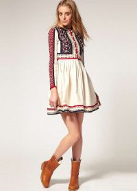 хаљина у руском стилу9