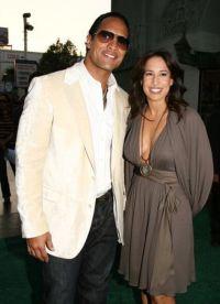 Рестлер с первой женой Дэни Гарсией