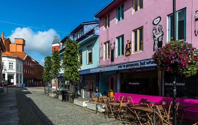 Цветная улица Ставангера