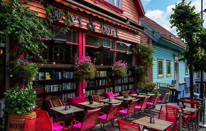 Студенческое кафе Bøker & Børst