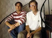 Стив Джобс и Билл Гейтс - друзья или соперники