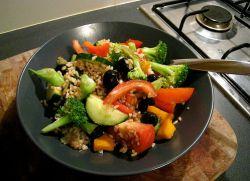 gulasz z kapusty z warzywami kalorii