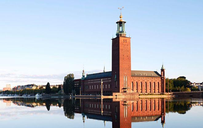 Смотровая площадка Стокгольмской ратуши
