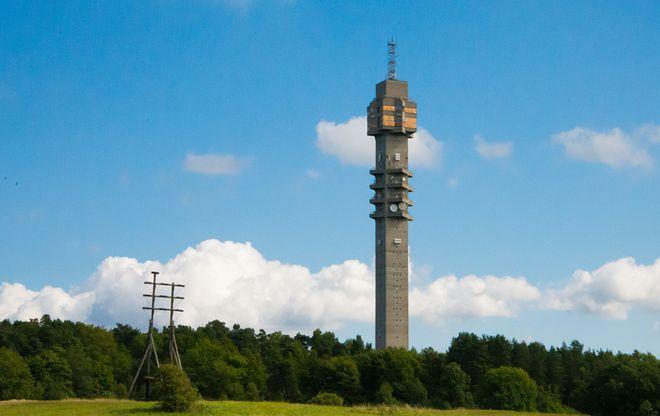 Телевизионная башня Kaknastornet в Стокгольме