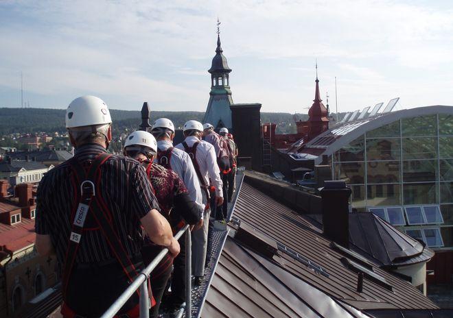 Экскурсия «Прогулка по крышам Стокгольма», организуемая компанией Upplevmer