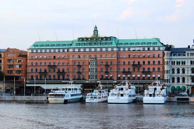 Лучший отель Стокгольма - Grand Hôtel Stockholm