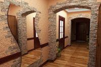 kamień we wnętrzu korytarza2