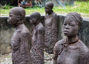 Памятник на площади работорговли