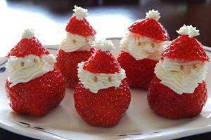 jak zrobić dekorację z truskawki na torcie 3