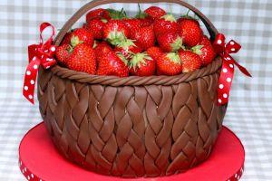 pomysły dekorowania truskawek 5