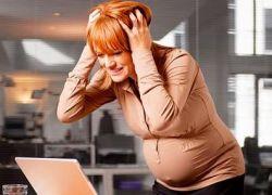 последиците от стрес по време на бременност