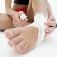 Прва помоћ за истезање ногу