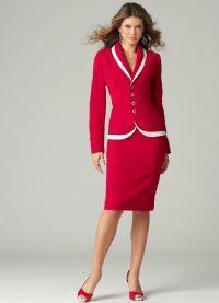 surowy kostium żeński 6