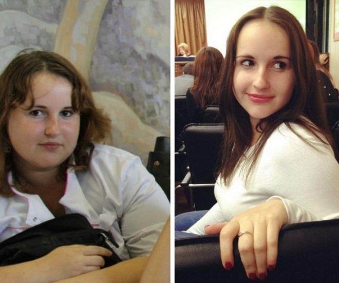 fotografia w paski zdjęcie przed i po