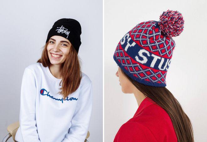 шапка stussy