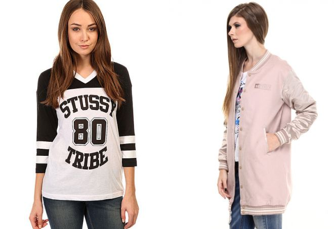 одежда stussy