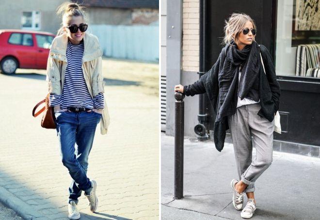 женский стиль одежды casual