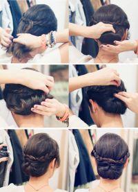 stylowe fryzury dla średnich włosów 6