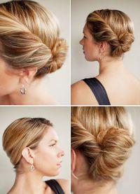 stylowe fryzury dla średnich włosów 9