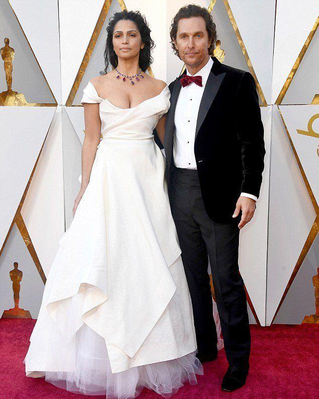 Мэттью Макконахи и Камилла Алвес на «Оскаре 2018»