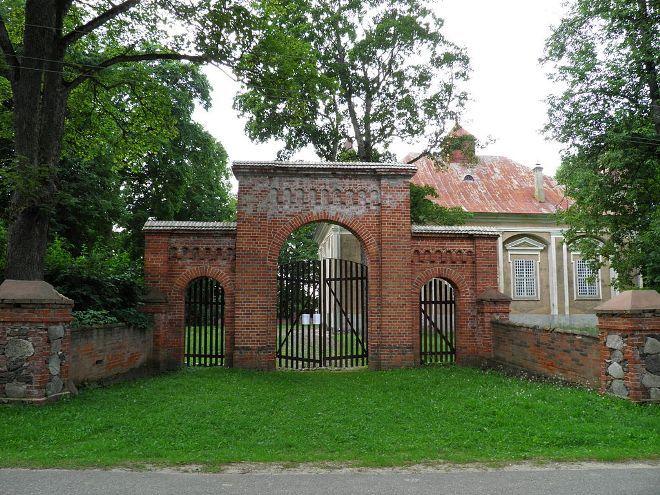 Ворота лютеранской церкви