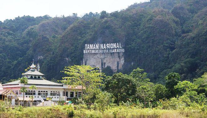 Национальный парк Bantimurung, Сулавеси