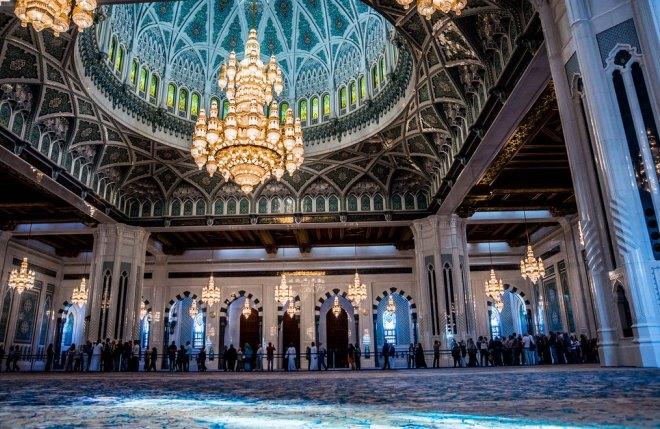 Главный зал мечети
