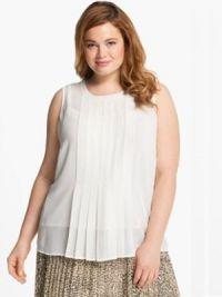 Љетне блузе за гојазне жене10