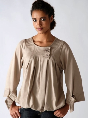 Љетне блузе за гојазне жене8