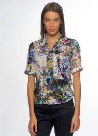 ljetne bluze s kratkim rukavima sifonom 18