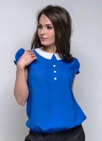 ljetne bluze s kratkim rukavima sifonom 5