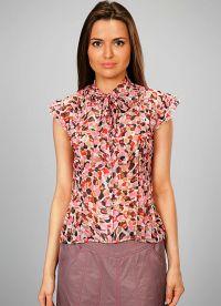 ljetne bluze s kratkim rukavima sifonom 8