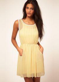 Ljetna šifonska haljina 1
