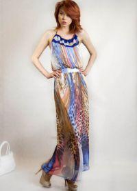 Ljetna haljina sifonom 2