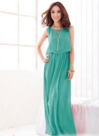 Ljetna šifonska haljina 3