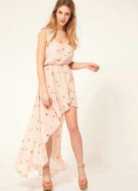 Ljetna šifonska haljina 4