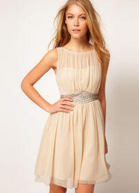 Ljetna šifonska haljina 7