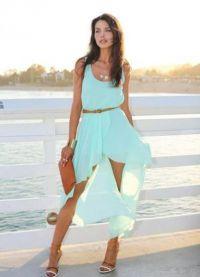 Ljetna šifonska haljina 9