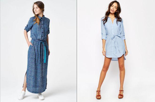 летние повседневные платья 2018